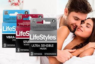 Pack 18 Preservativos Lifestyles Variedades Clásicos