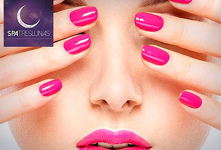 Spa de manos con Parafinoterapia + Manicure permanente