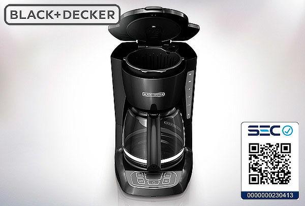 Cafetera 12 Tazas Black & Decker.