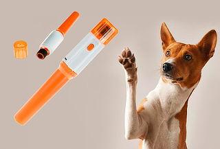 2 Limas Portatiles para Uñas de Mascotas Pet Pedicure
