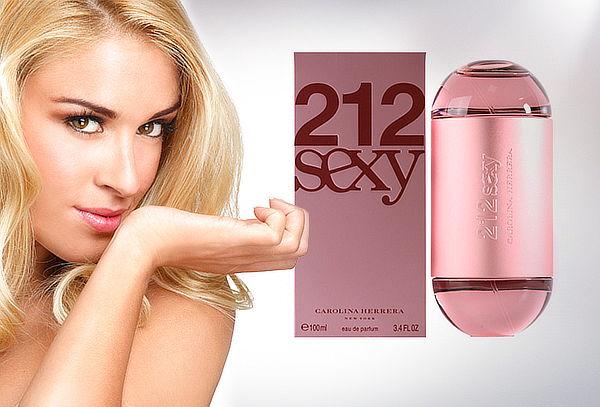 Perfume Carolina Herrera 212 Sexy 100 ml para Mujer