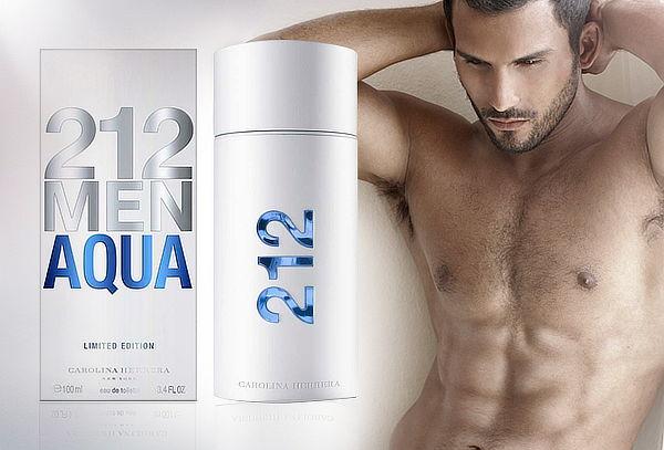 Perfume 212 Men Aqua 100ml de Carolina Herrera