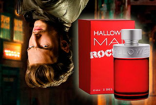 Perfume Halloween Man Rock On 125 ml Hombre