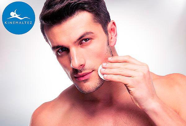 Limpieza facial Premium para hombres, Kinemaltez