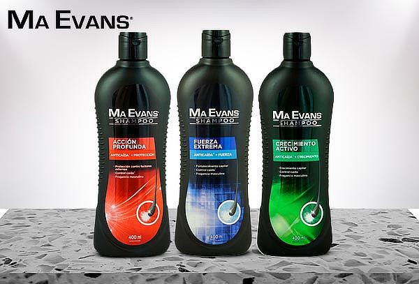 Pack 3 Shampoo Ma Evans 400ML