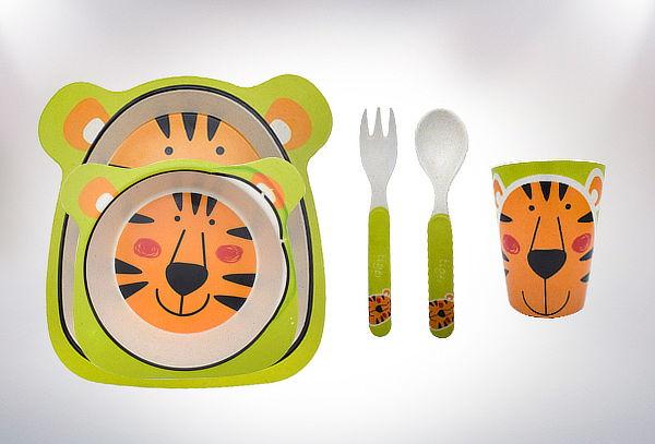 Set para la Hora de Comer Biodegradable Infantil