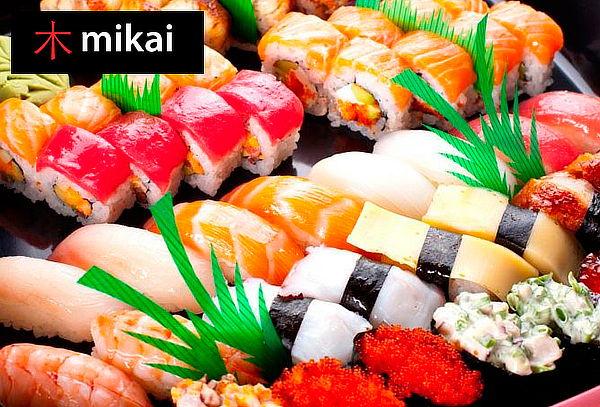 Menú para 2 en Mikai Sushi