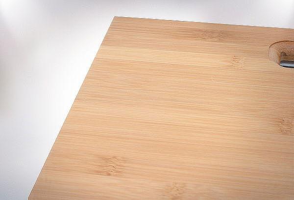 Pesa Digital para Baño con Plataforma de Bambú