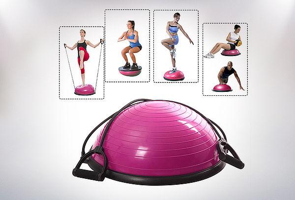 Balón de Resistencia Pilates + 2 Bandas de Resistencia