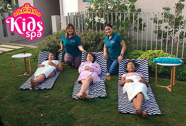 Fiesta Spa KIDS para cumpleaños a elección