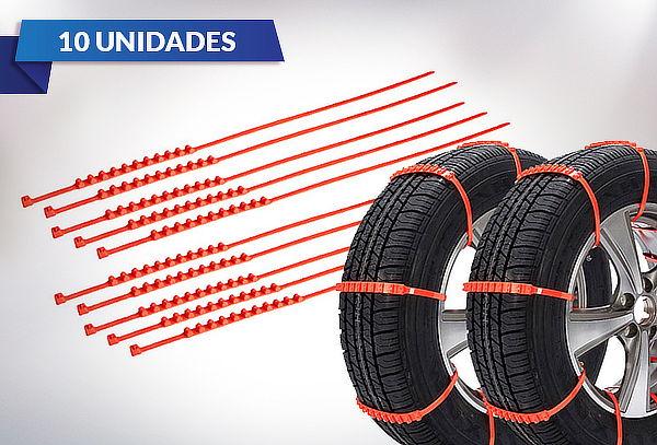 Pack de 10 Amarras de Neumáticos para la Nieve
