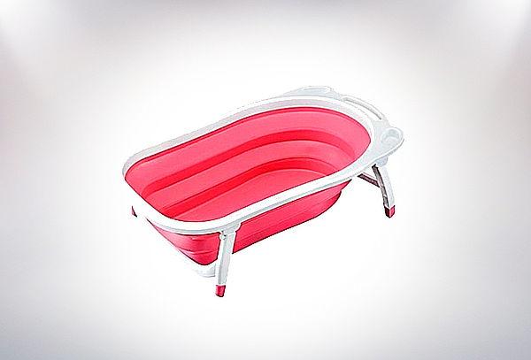 Bañera Plegable  Color Fucsia