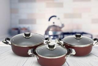 Set de Batería de Cocina 6 Piezas