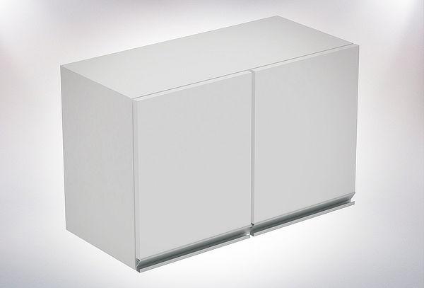 Mueble Mural de Cocina de 2 Puertas Blanco