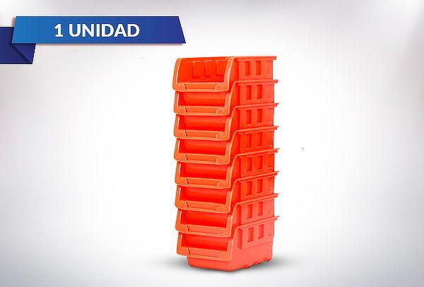 Organizadores Apilables Color Naranja