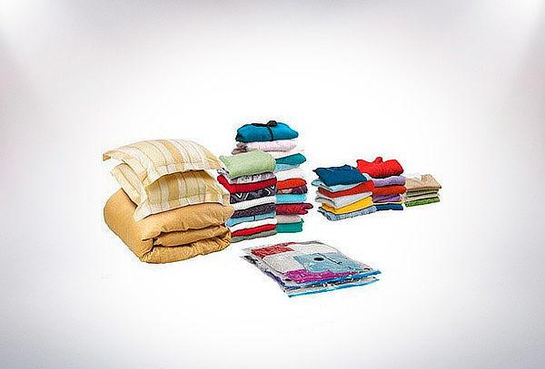 Pack 7 Bolsas Compresoras Organizadoras, Diferentes Tamaños