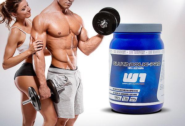 Aminoácido Glutabolic Pro Frasco de 600 g, Winkler Nutrition