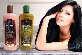 Shampoo y Bálsamo de Biotina y Keratina sin Sal