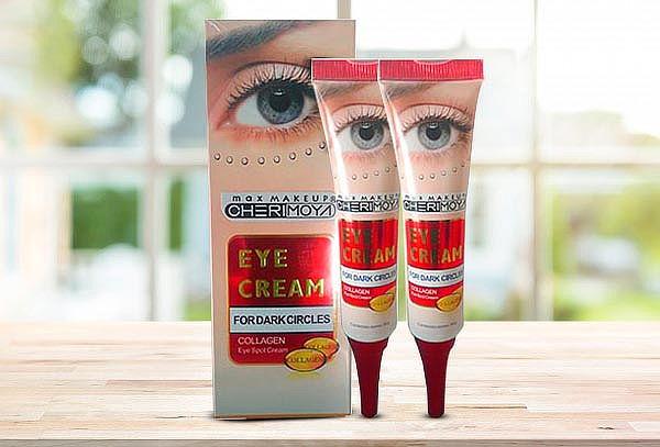 Pack de 2 Cremas para ojos, Vitamina E, Colágeno y Elastina.