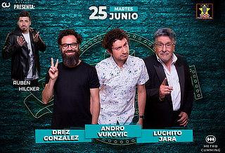 25 de Junio! Stand Comedy + Tragos + Comida