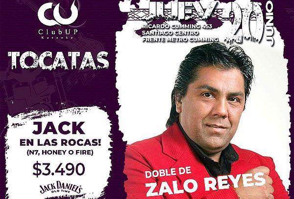 20 de Junio! Doble Zalo Reyes + Tragos + Comida