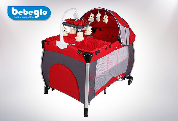 Cuna Corral Pack & Play marca Bebeglo