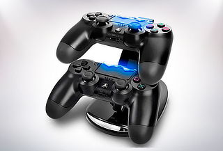 Cargador Doble Controles Ps4 Dualshock