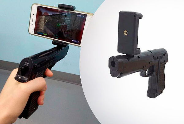 Pistola de juegos de realidad virtual Bluetooth  Ar-Gun