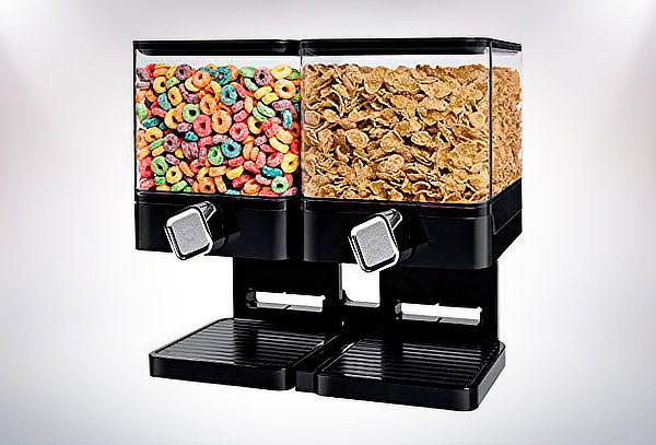 Dispensador de cereales doble