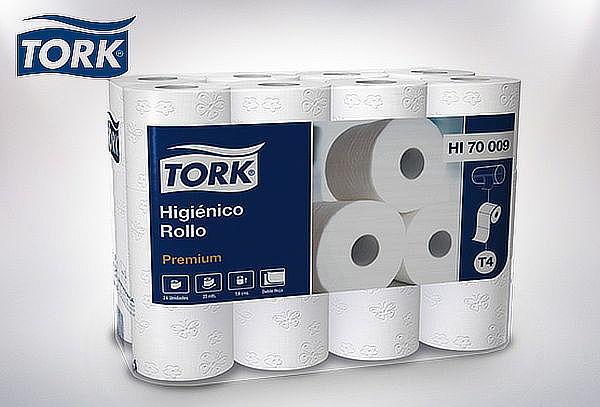 Pack 24 Rollos de Papel Higiénico Tork 20 Mtrs
