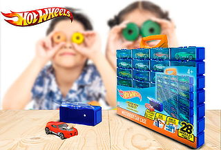 Modular Guarda Autos Hot Wheels 28 Piezas