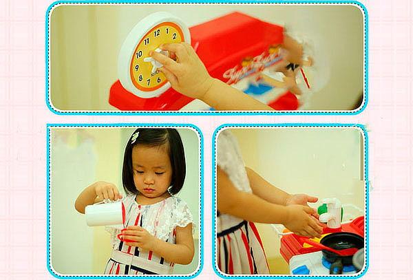 Cocina Infantil 59 Piezas con Luces y Sonidos