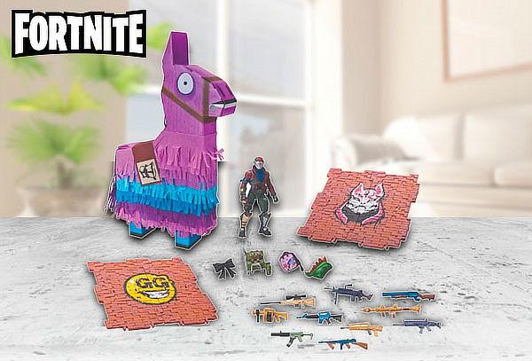 Piñata con Accesorios Fortnite