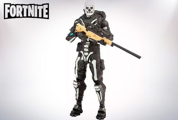 "Figura de Acción ""Skull Trooper"" Fortnite"
