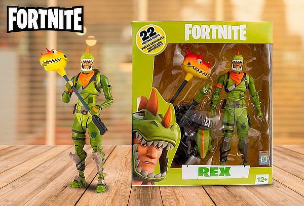"Figura de Acción ""Rex"" Fortnite"