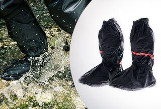 Cubre botas impermeables para moto