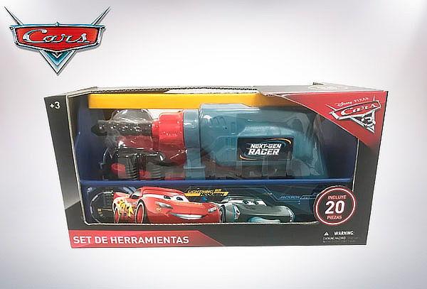 Set de Herramientas Cars 20 Piezas