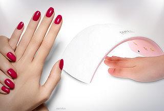 Secador de Uñas Led UV para Manicure Permanente