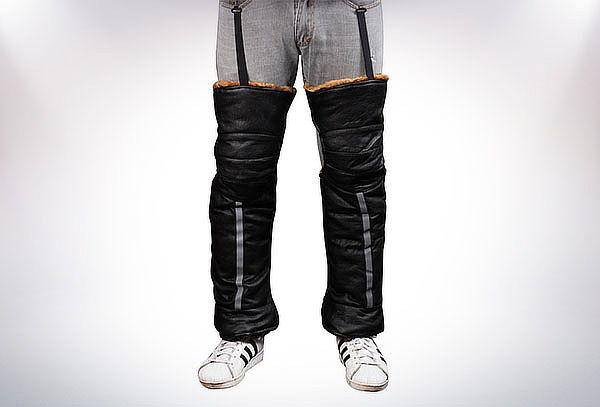 Cubre piernas gruesas para moto