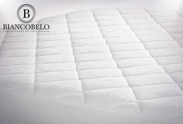 Cubre Colchón Biancobelo Elasticado
