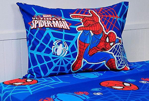 Set de Sábanas o Plumón Spiderman Masks