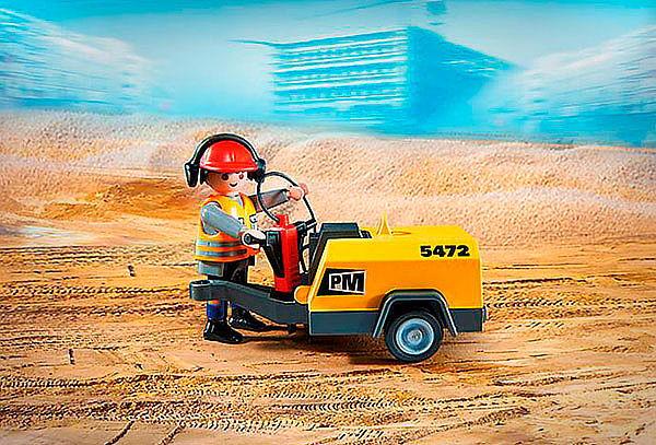 Juguete City Acción Obrero con Martillo Playmobil