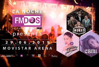 Entradas La Noche FMDOS 29 de junio 2019, Movistar Arena