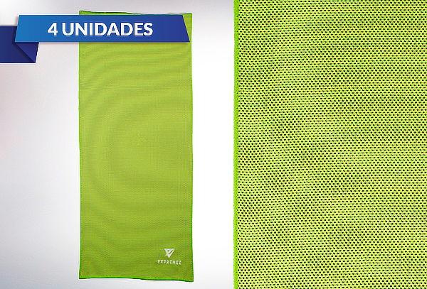 Pack 4 Toallas Enfriamiento Deportivas Exprenee Sport