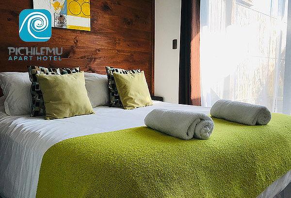 Apart Hotel Pichilemu: 2 noches para 2 + desayuno + almuerzo