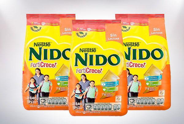 Pack 3 bolsas de Nido forticrece softpack 840 gramos