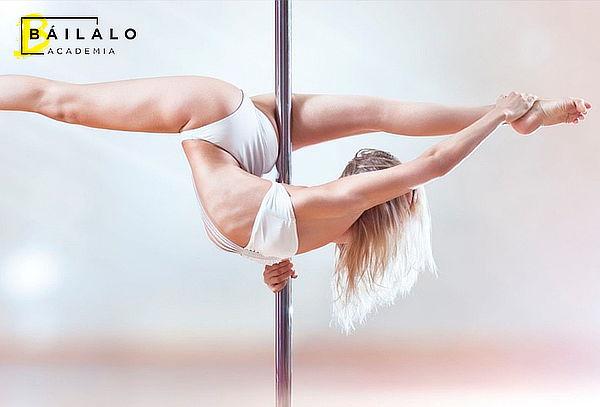8 Clases de Pole Dance en Academia Báilalo