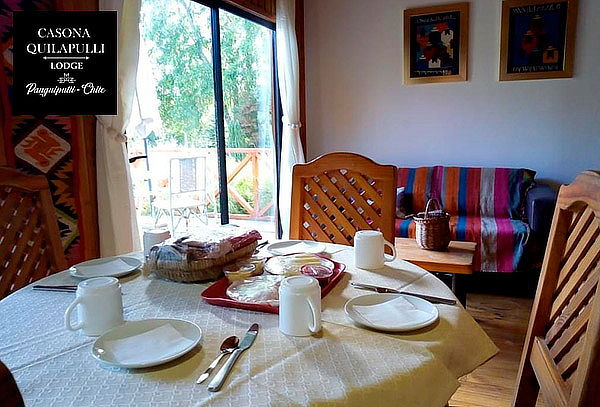 Lodge Casona Quilapulli: 2, 3 o 4 noches para 2 o 3 personas