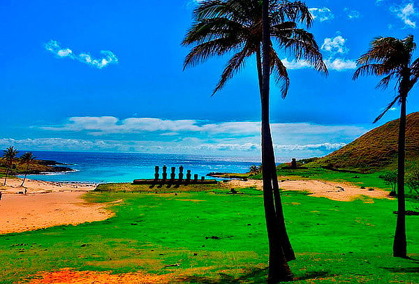 Hostal Noa Ariki, Isla de Pascua: 1 a 7 noches para 2 pers.