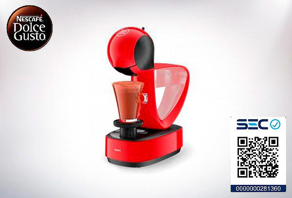 Cafetera Mini me Dolce Gusto.